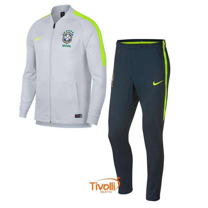 Agasalho Brasil CBF Nike   Track Suit Masculino   198ba47cbf437