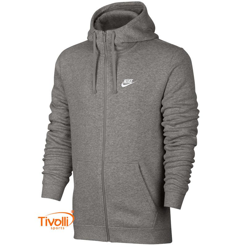 Jaqueta De Moletom Com Capuz Nike Hoodie Fz Flc Club