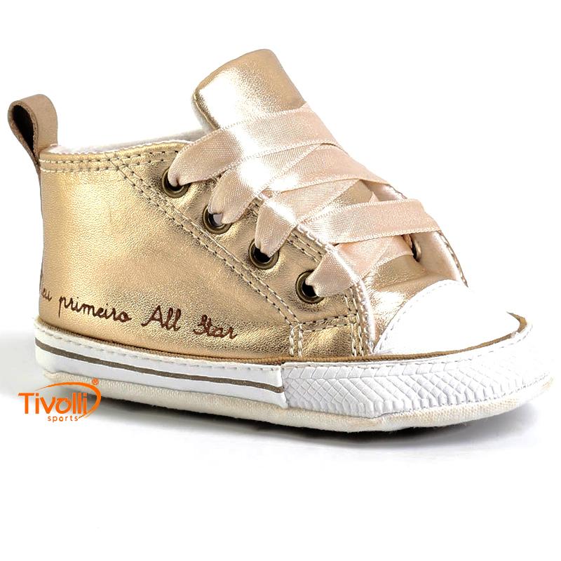 ec1b15c97c Tênis All Star Converse My First All Star Laces Baby Meu primeiro All Star  tam. 15 ao 18. Código  CK03180001