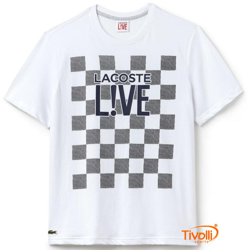 cdc12bc78852e Camiseta Lacoste Live   Masculina