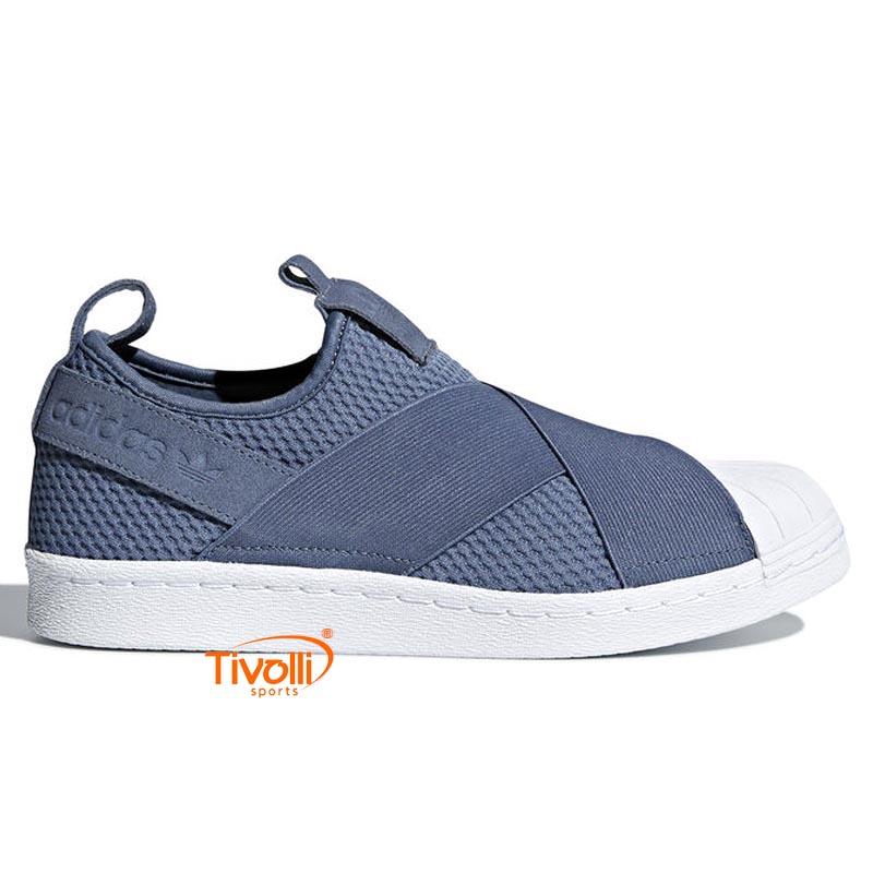 691e6c876 Tênis Adidas Superstar Slip On Feminino. Código  CQ2384