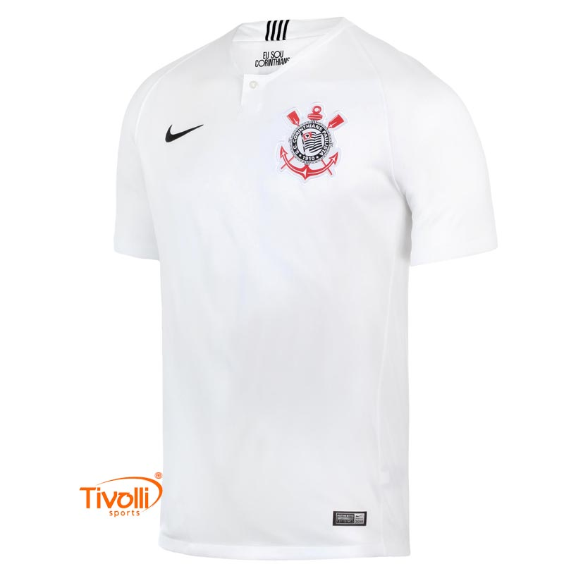 ef1cf2d191 Camisa Nike Corinthians I Home SCCP   2018 19 Torcedor Masculina