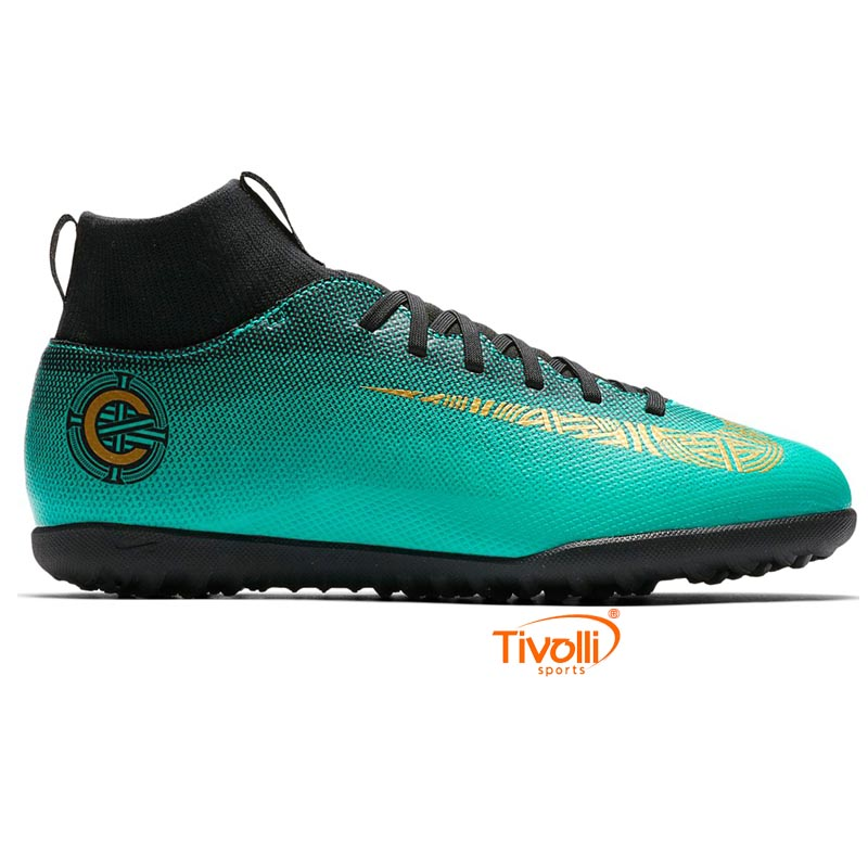 474547d36e Chuteira Nike Mercurial CR7 Superfly 6 Club   TF Society Infantil