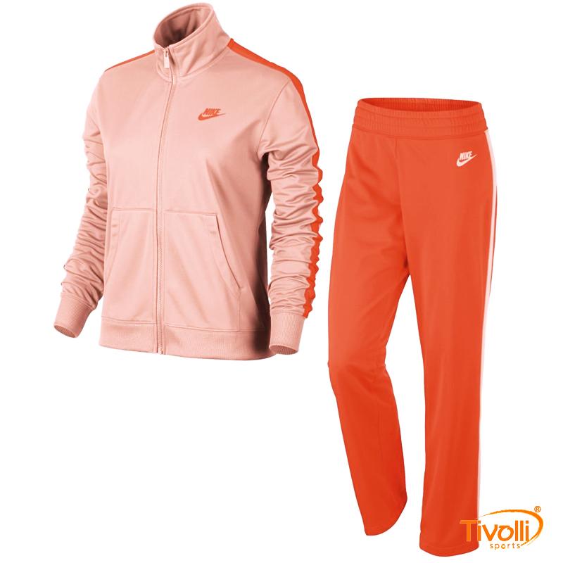 dba7eb7b26e Agasalho Nike Feminino   Sportswear Track Suit