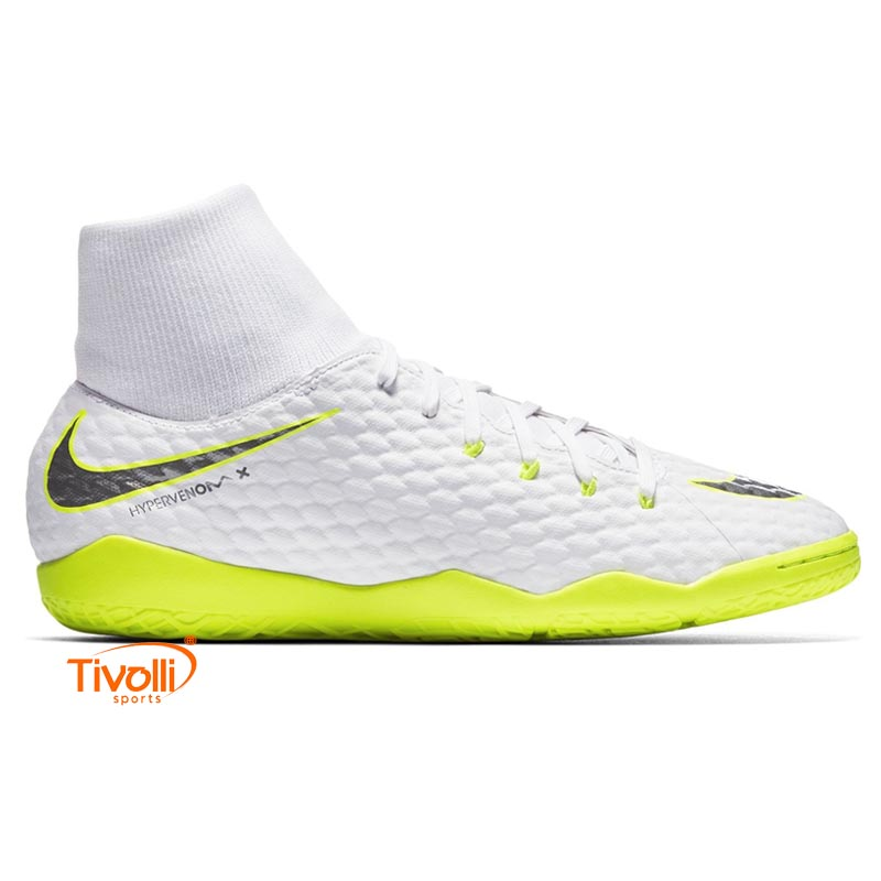 Chuteira Nike Hypervenomx Phantom 3 Academy   IC Futsal Infantil   e8f1da6cf70a7