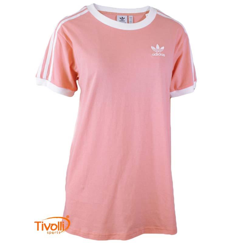 bc424f061 Camiseta Adidas Feminina > 3 Stripes >