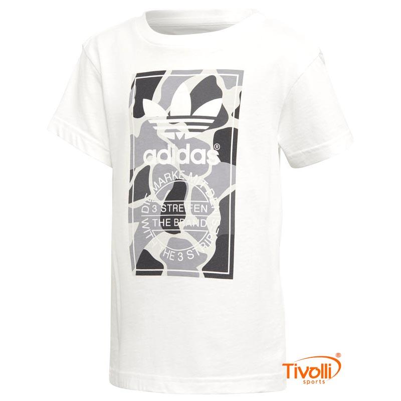 6d5e85a55 Camiseta Adidas Originals Infantil   Trefoil
