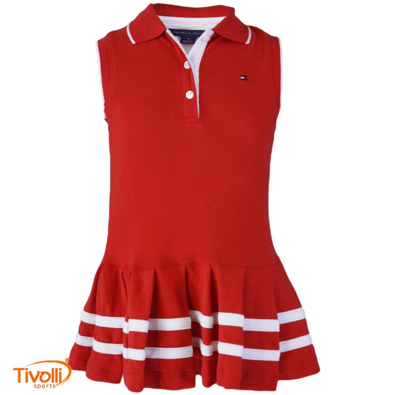 64bf9357b1 Vestido Polo Tommy Hilfiger Dress   Infantil tam. 24 meses á 6 anos