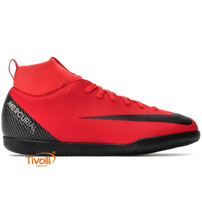 Chuteira Nike JR. Superfly 6   Club CR7 Infantil IC Futsal   ac728f7bf6918