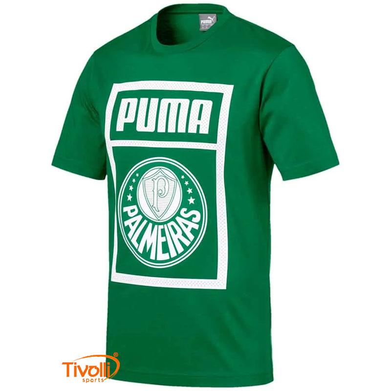 neumático Diacrítico menor  Camiseta Palmeiras Puma Graphic > Masculina >