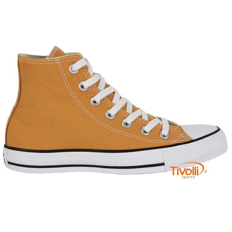 6255f3540 Tênis Converse All Star Chuck Taylor Core Hi tam. 33 ao 38 amarelo mostarda