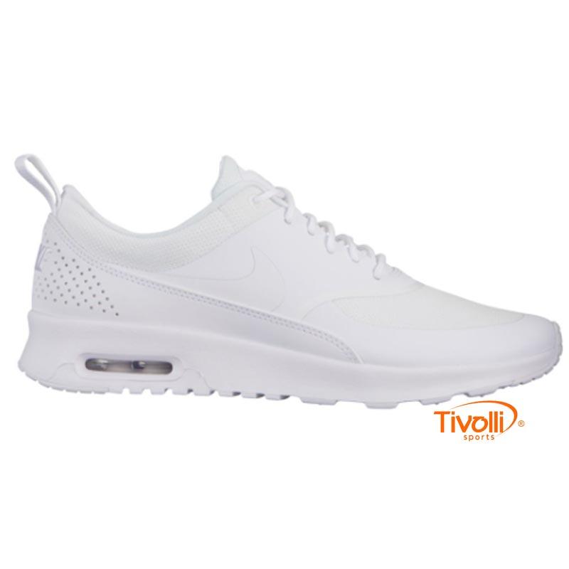 Tênis Nike Air Max Thea Branco Monocromático