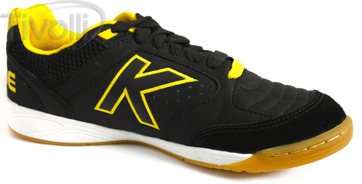 7af3e27037b Chuteira de futsal Kelme Precision   Preto com amarelo - 55211