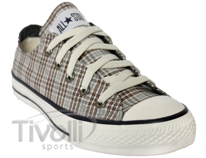 a31869b6d59 Converse All Star Specialty Plaid Girl   Xadrez Bege