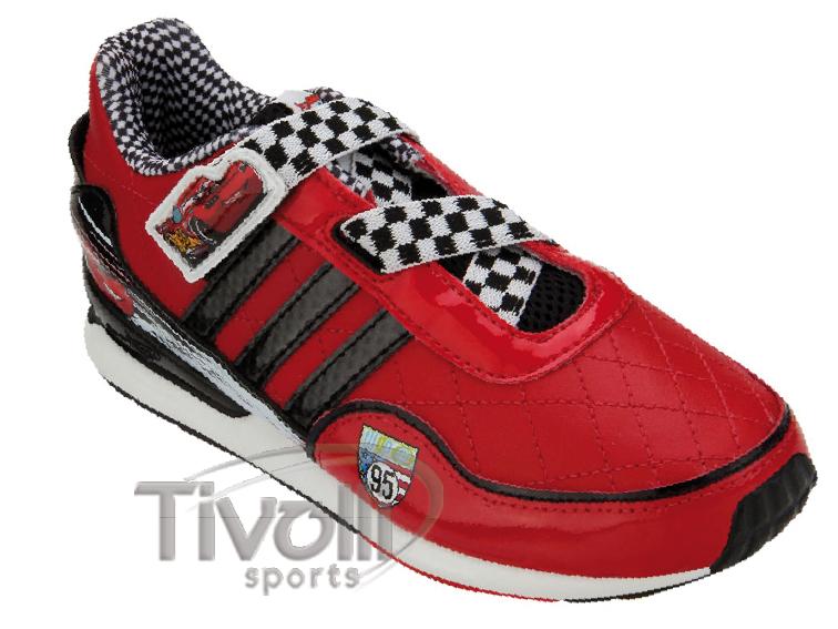 the latest 9af69 92815 Tênis Infantil Adidas Disney Cars 2 CF C Relâmpago McQueen