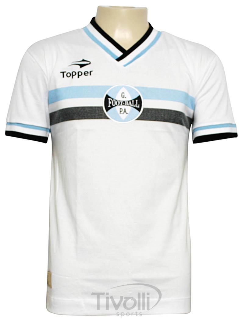 3e1abdd97c Black Friday - Camisa Topper Grêmio Retrô 1962   Branca