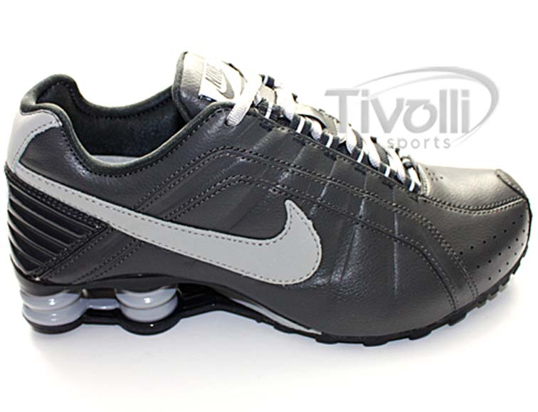 release date best supplier great quality Tênis Nike Shox Junior Cinza/Chumbo - Ref: 454340-019