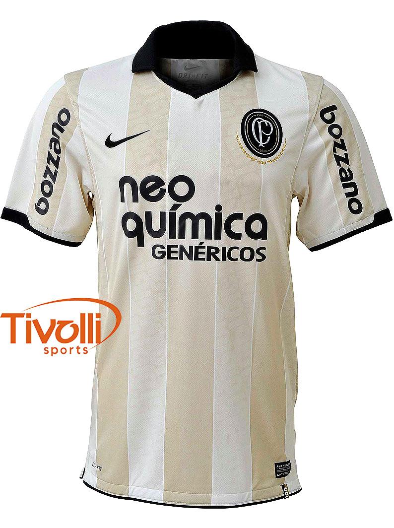 8b860ef240 Camisa Nike Corinthians Centenário Infantil   Bege - Ref  382420-201