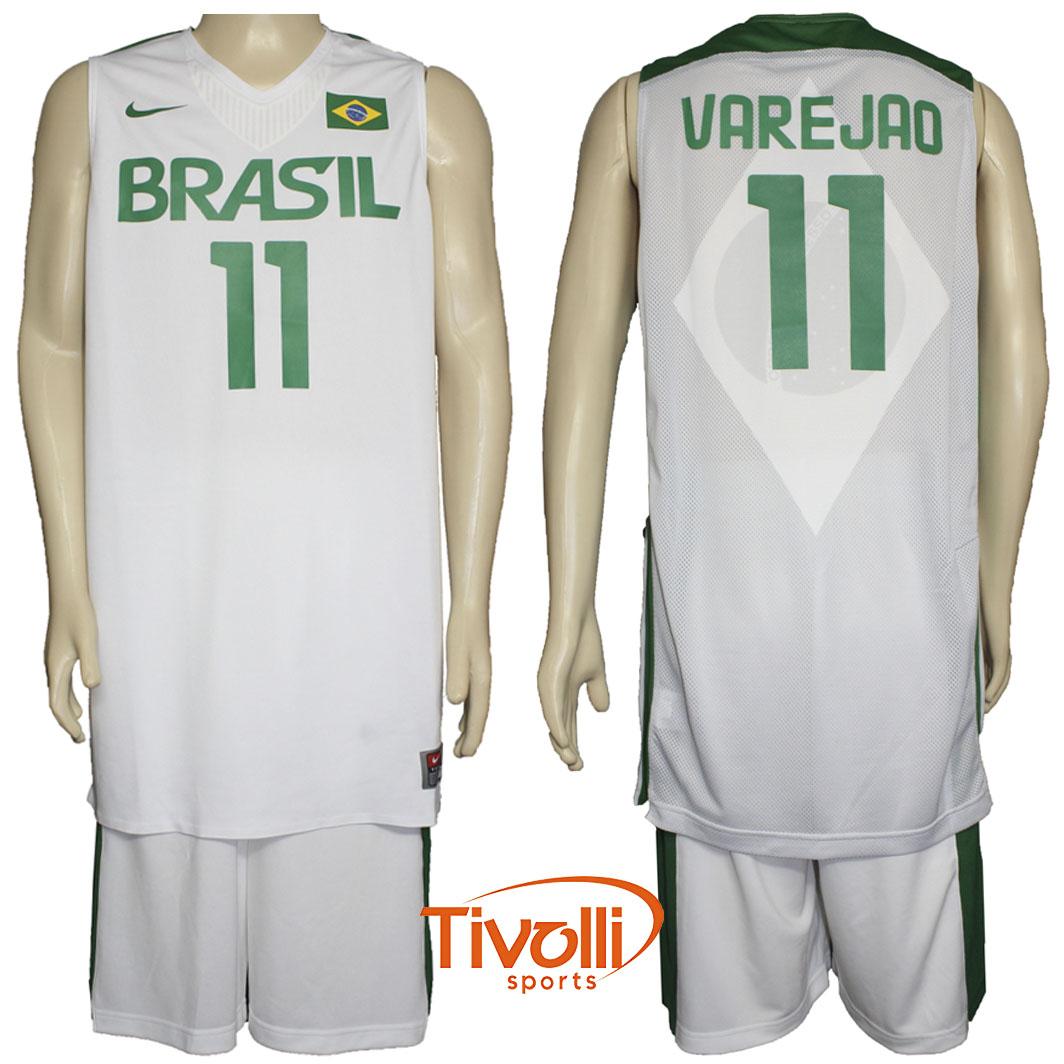 8c3a99d4cfeca Regata Seleção Brasileira   Branco Verde - Ref  516559-100