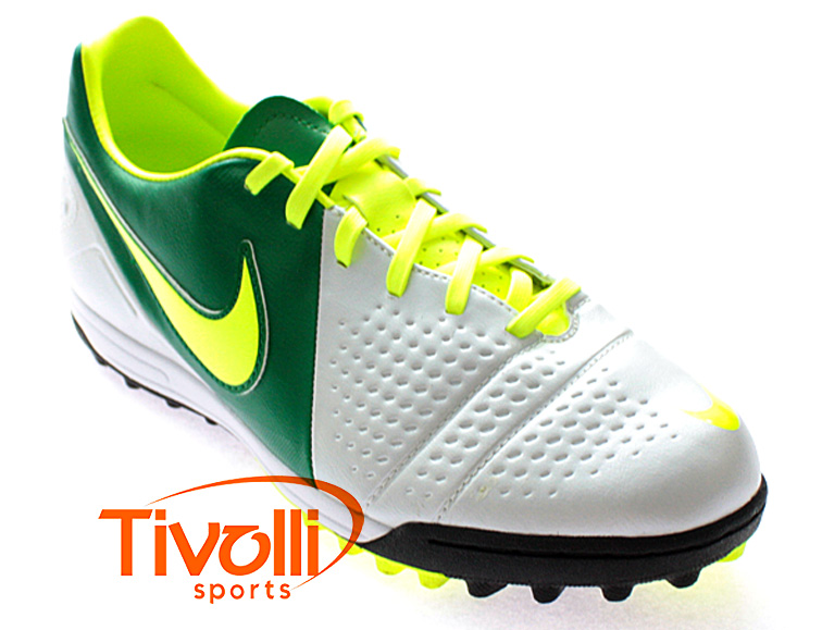 sale retailer 3b9c7 2cfa9 Black Friday - Chuteira Nike CTR360 Libretto III TF Society Branco Verde  Limão - Ref  525169-173