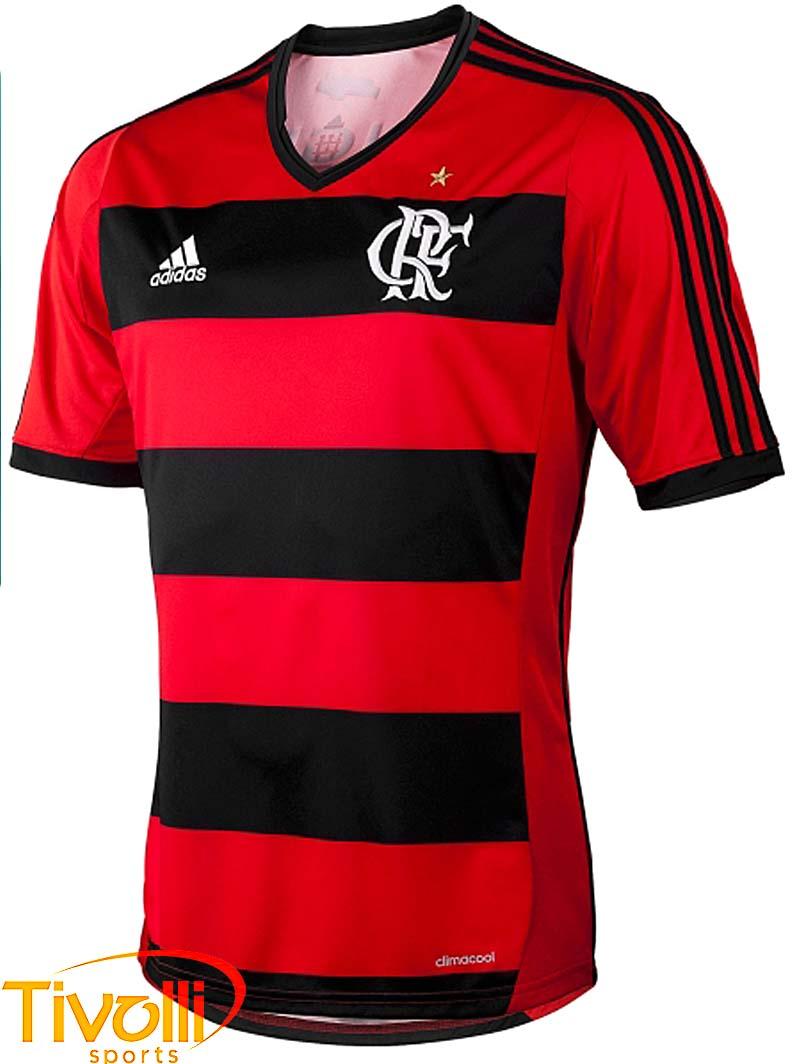 Camisa Flamengo Adidas   - Mega Saldão   04cbc833147ca