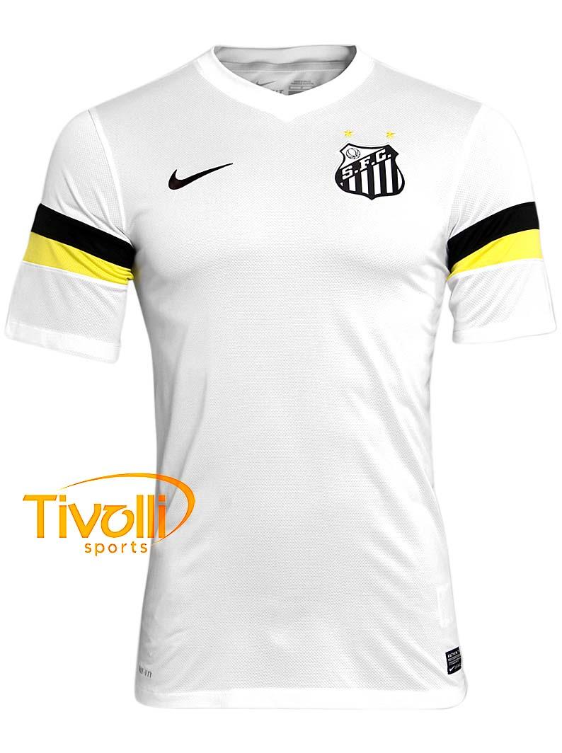 743c05e2e0 Camisa Santos I 2013 Nike   Branca