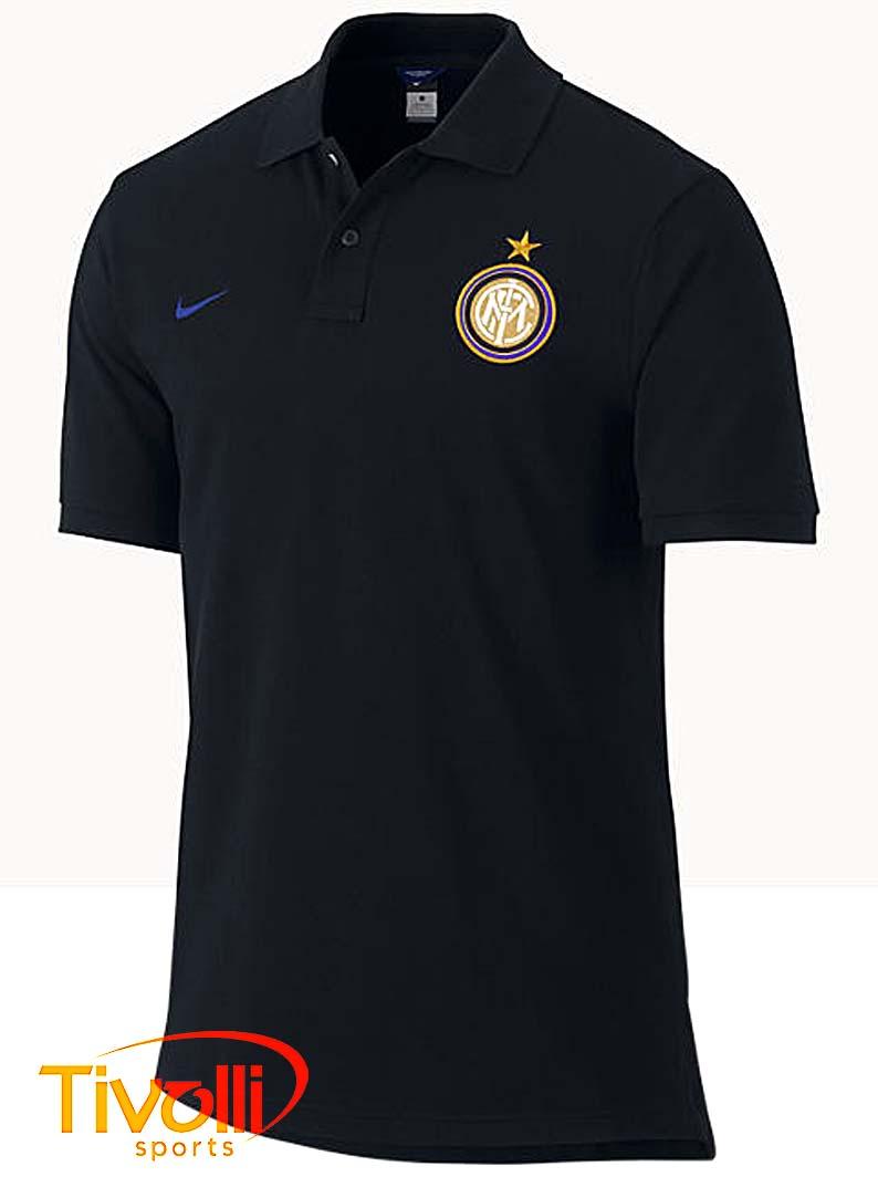 Camisa Polo Nike Inter de Milão Authentic GS   - Mega Saldão   2d86675198955