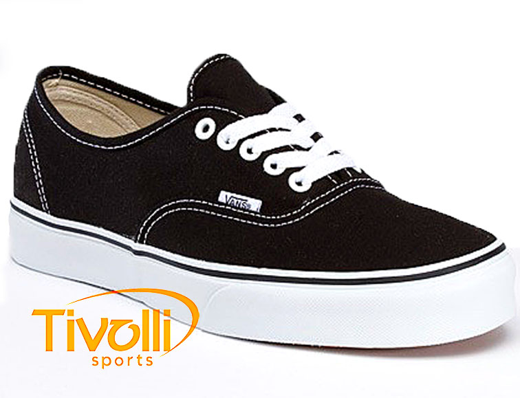 f04a4a5b78b Black Friday - Tênis Vans Authentic   Preto e Branco