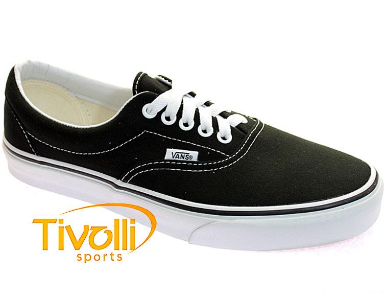1799d9d6633 Black Friday - Tênis Vans Era   Preto Branco - Ref  VN-0EWZBLX
