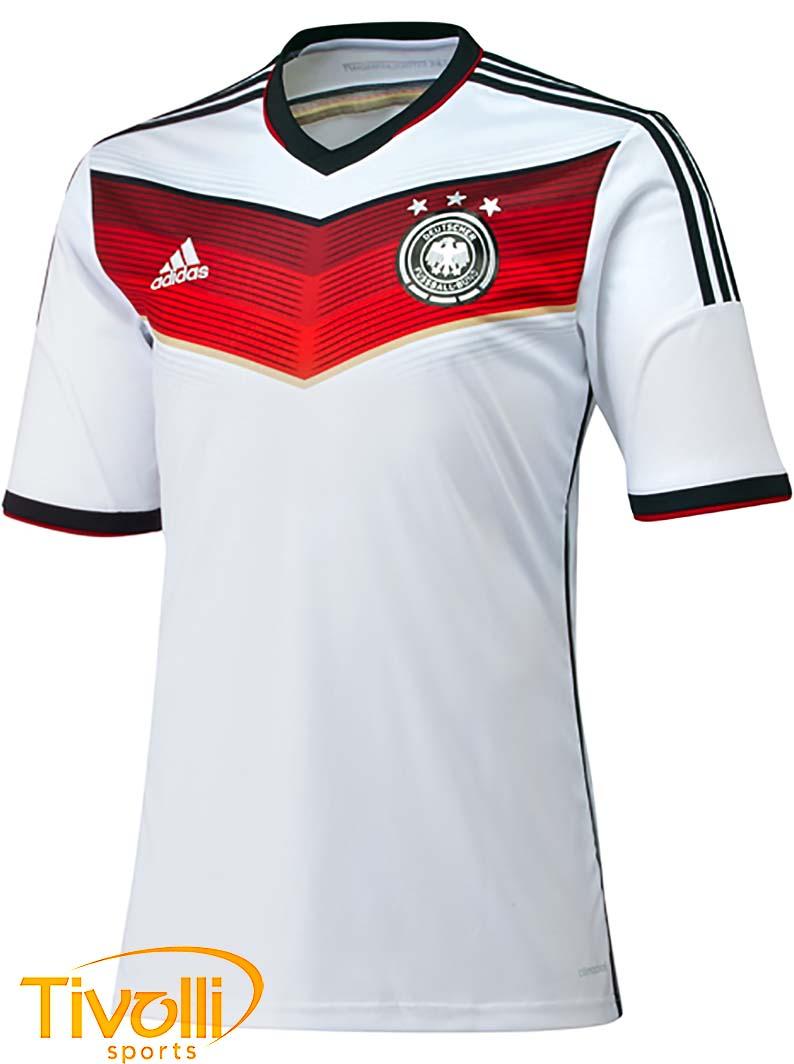 6baaa2fb01b9a Black Friday - Camisa Adidas   Alemanha 2014 15 Home I Branca