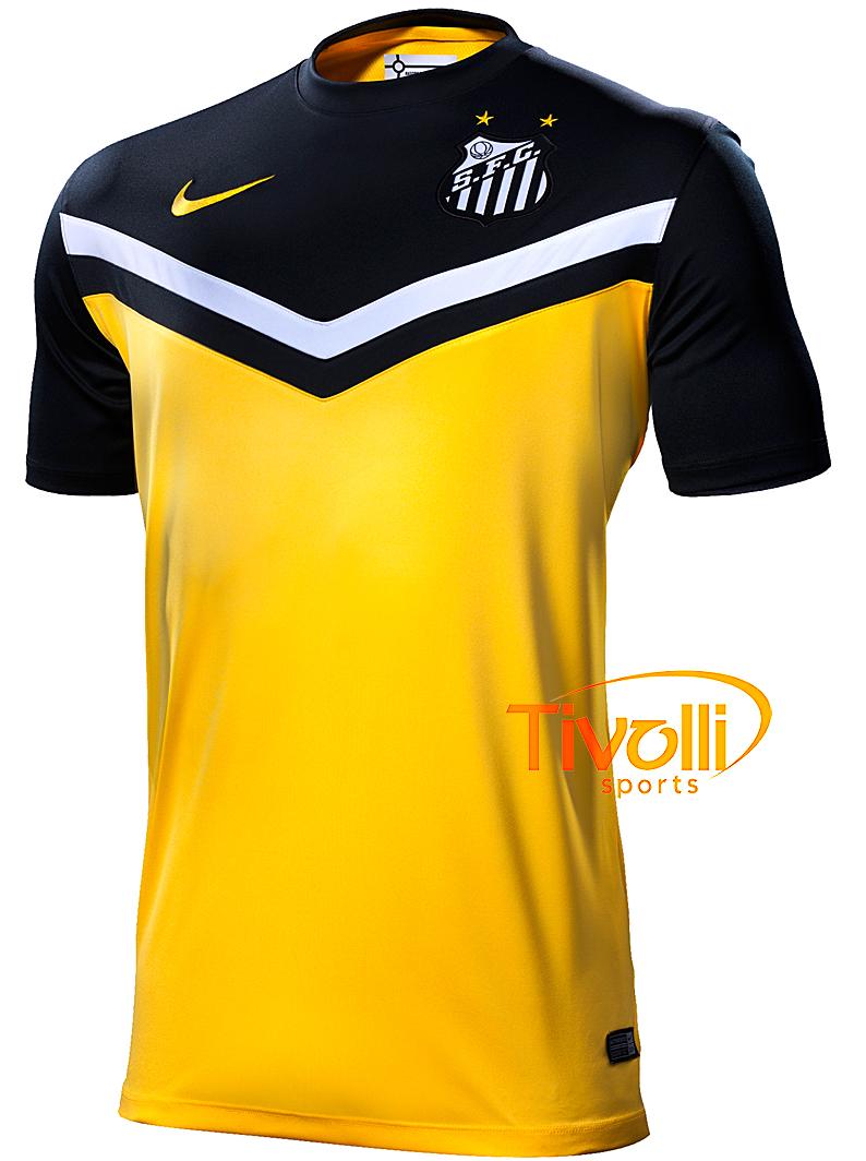 4eabea0e58bf0 Camisa Santos III Copa 2014 Nike