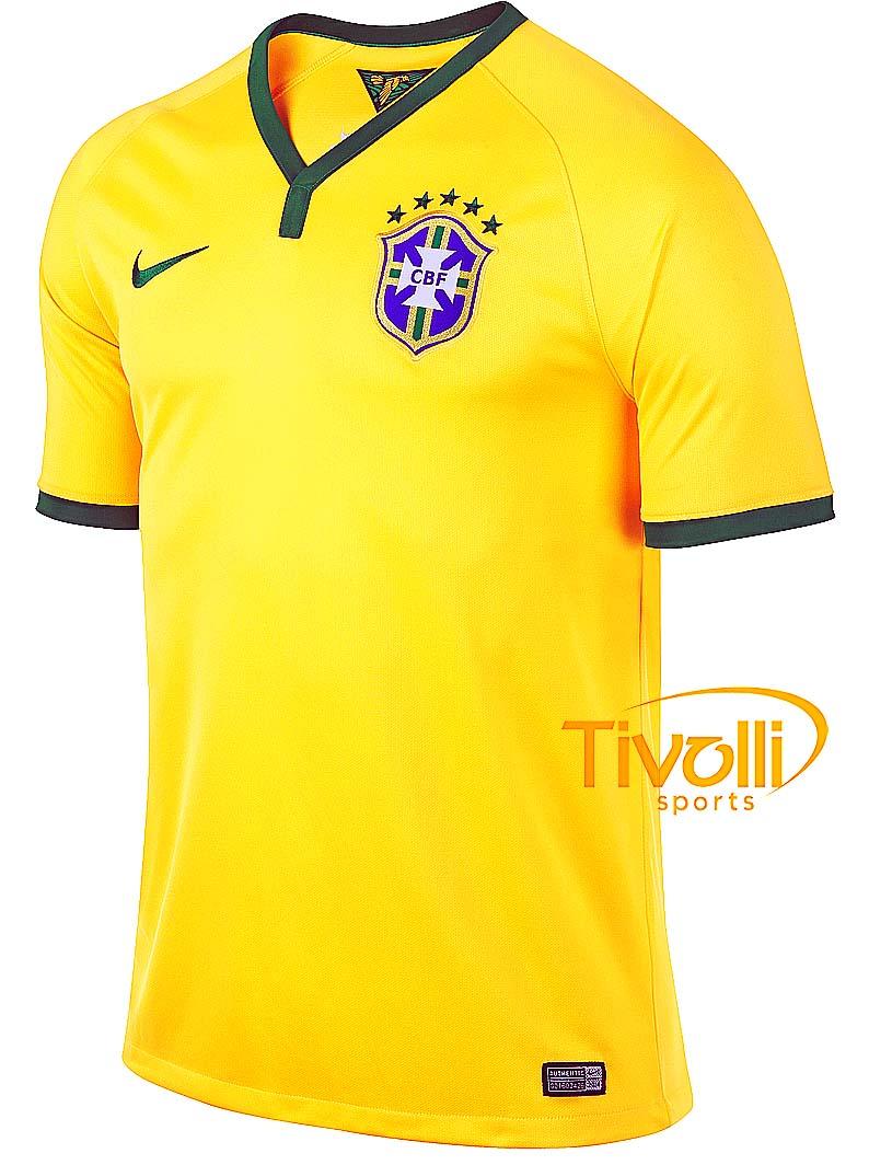 Camisa Brasil 2014 Nike Infantil   - Mega Saldão   e08bf6592c659