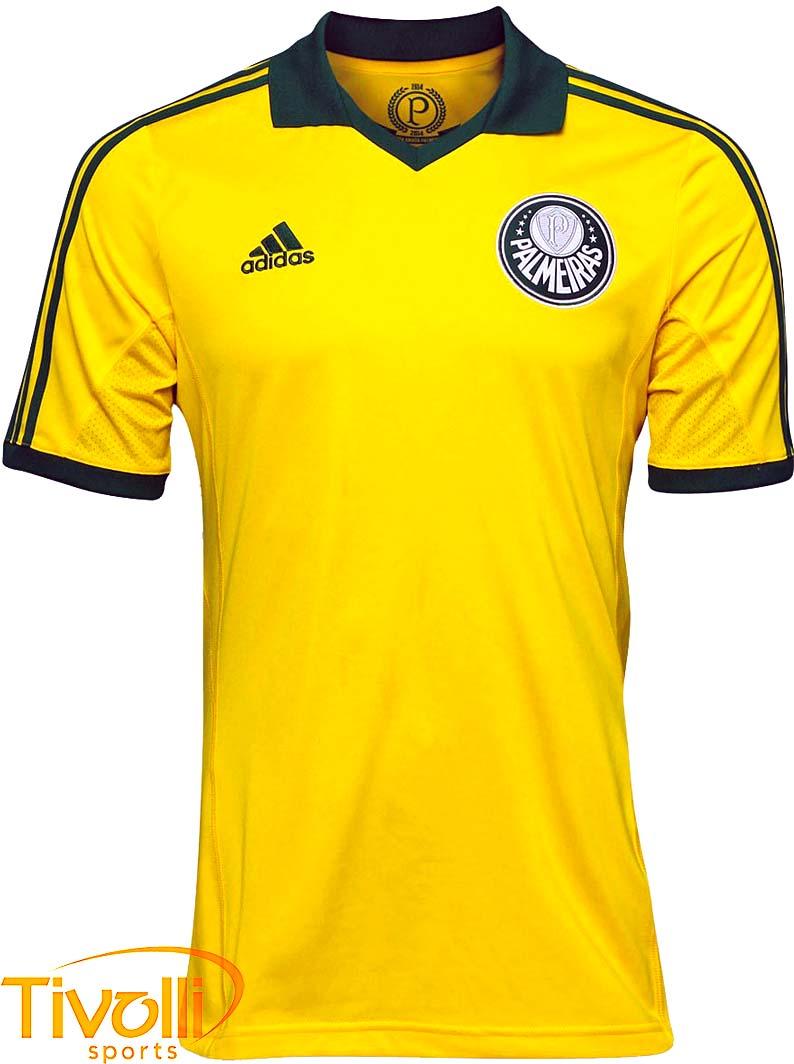 130f896e6ab38 Camisa Adidas Palmeiras III Centenário > Amarelo e Verde >