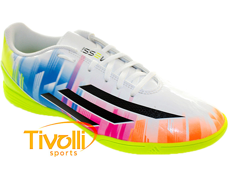 737097f2f1053 Chuteira Adidas F5 IN Messi IC Futsal > >