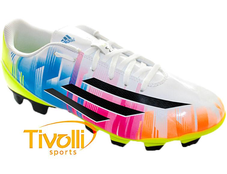 c6285b56dc6 Chuteira Adidas F5 TRX Messi FG Campo   - Mega Saldão