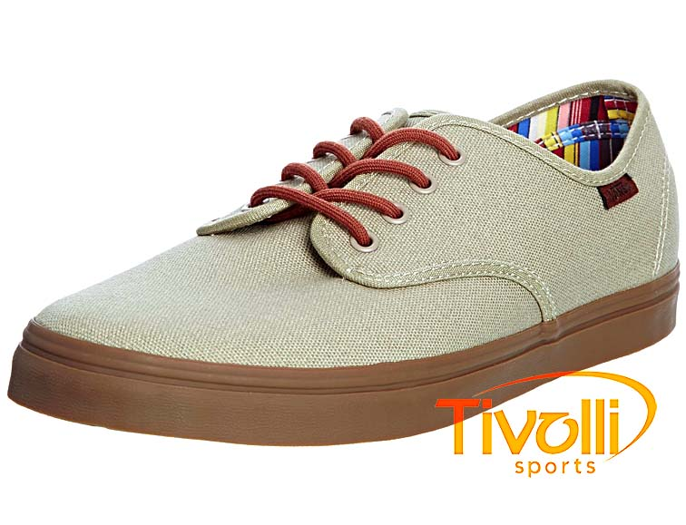 29ecc2f4c23 Black Friday - Tênis Vans Madero (14 oz Canvas) Dunes Stripes VN-0OYCAOG
