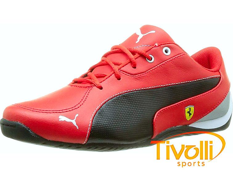 505a64f4492 Tênis Puma   Drift Cat 5 L Sf Ferrari vermelho