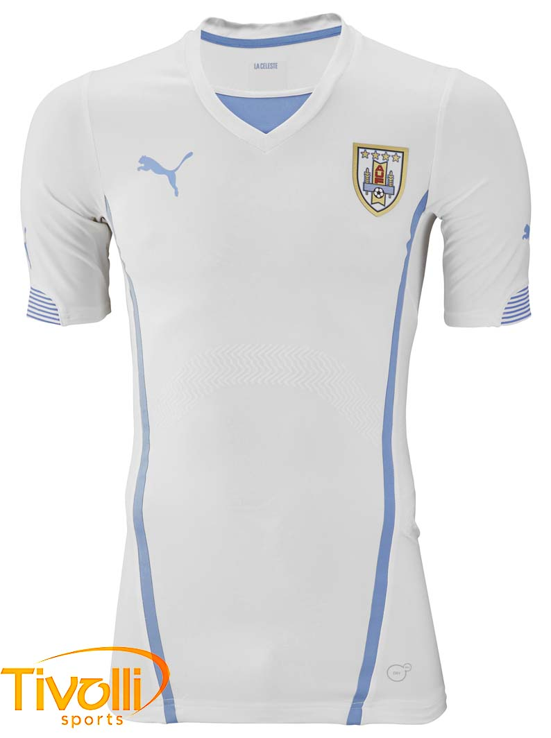 Black Friday - Camisa Puma   Uruguai II Away Branca   fd32ddbc21e83