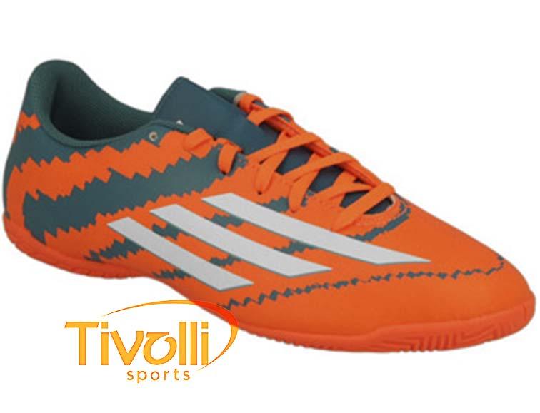 Chuteira Adidas Messi 10.4 fustal   Indoor Infantil B44513   b3bcc6874bbcf