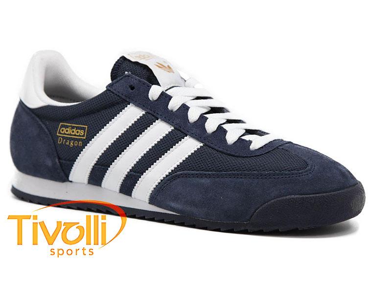 fe8ec649226c5 Tênis Adidas Dragon > Originals Marinho e Branco G50919 >