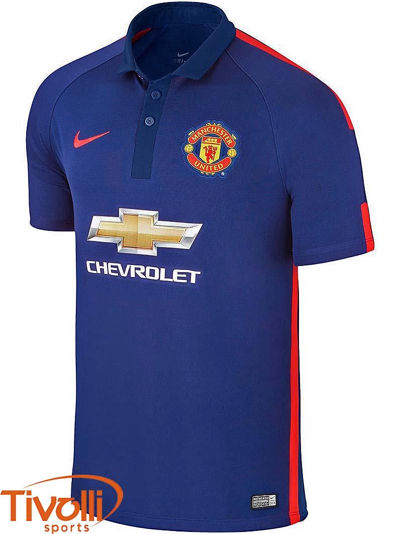 camiseta de manchester united azul