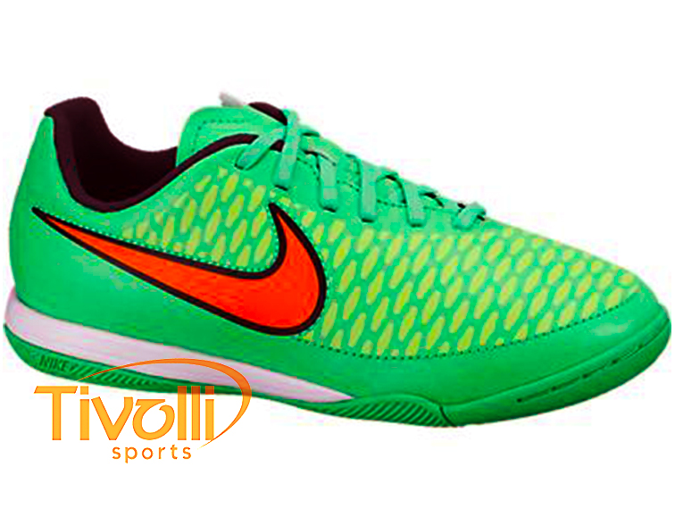 1af92acf3c Black Friday - Chuteira Infantil Nike Magista Onda IC Junior Futsal verde  laranja 651655-380