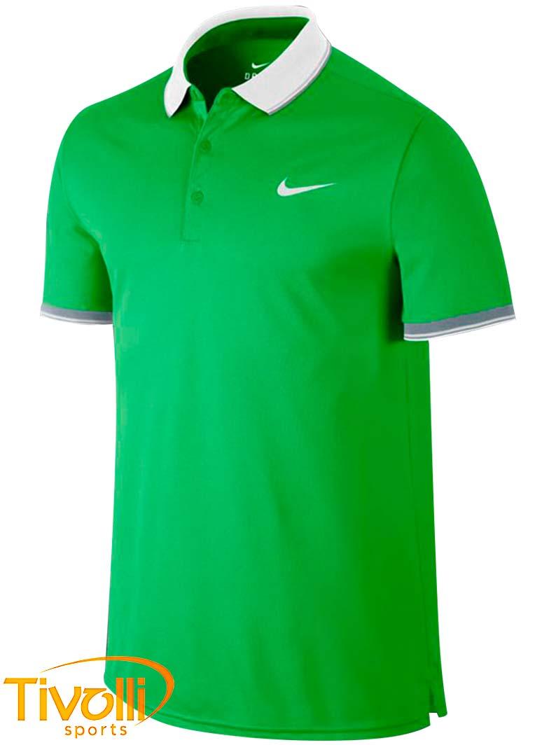 organic bosom Destroy  Camisa Polo Nike Court > masculina verde e branca >