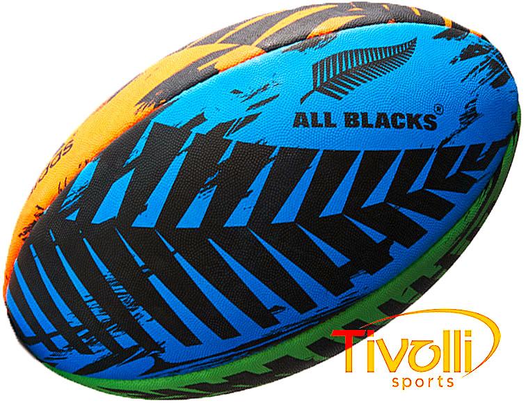 Bola Adidas Rugby All Blacks   Multicor   af67f82293d2b