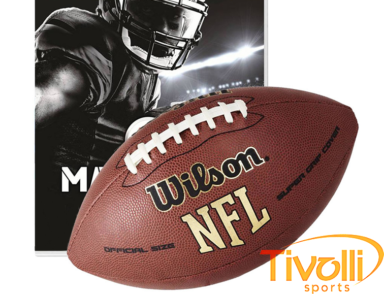 052e5b3a4 Bola Wilson NFL Super Grip   Futebol Americano