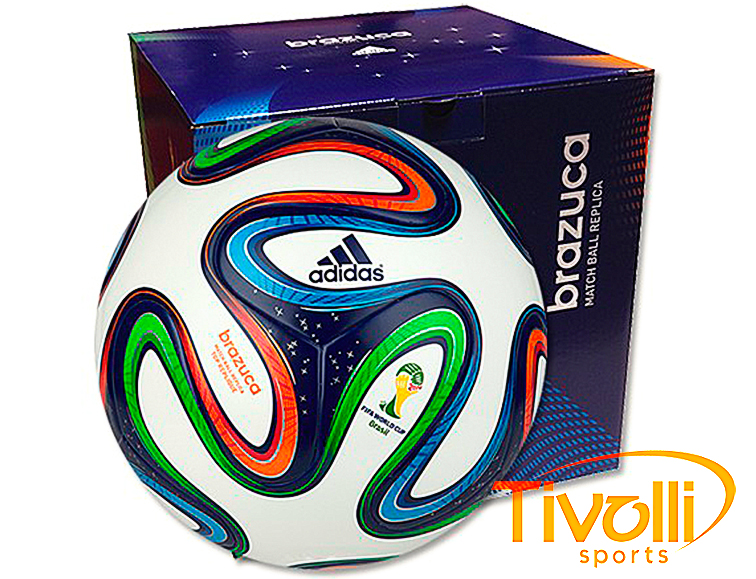00da5ffd9790d Bola Adidas Brazuca World Cup 2014 Replica Soldadda Match Ball Top Glider