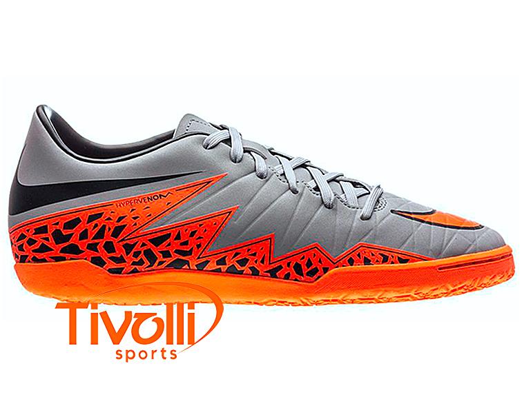 Chuteira Nike Hypervenom Phelon II IC Futsal Infantil   - Mega Saldão   ca10e1b9ad30d