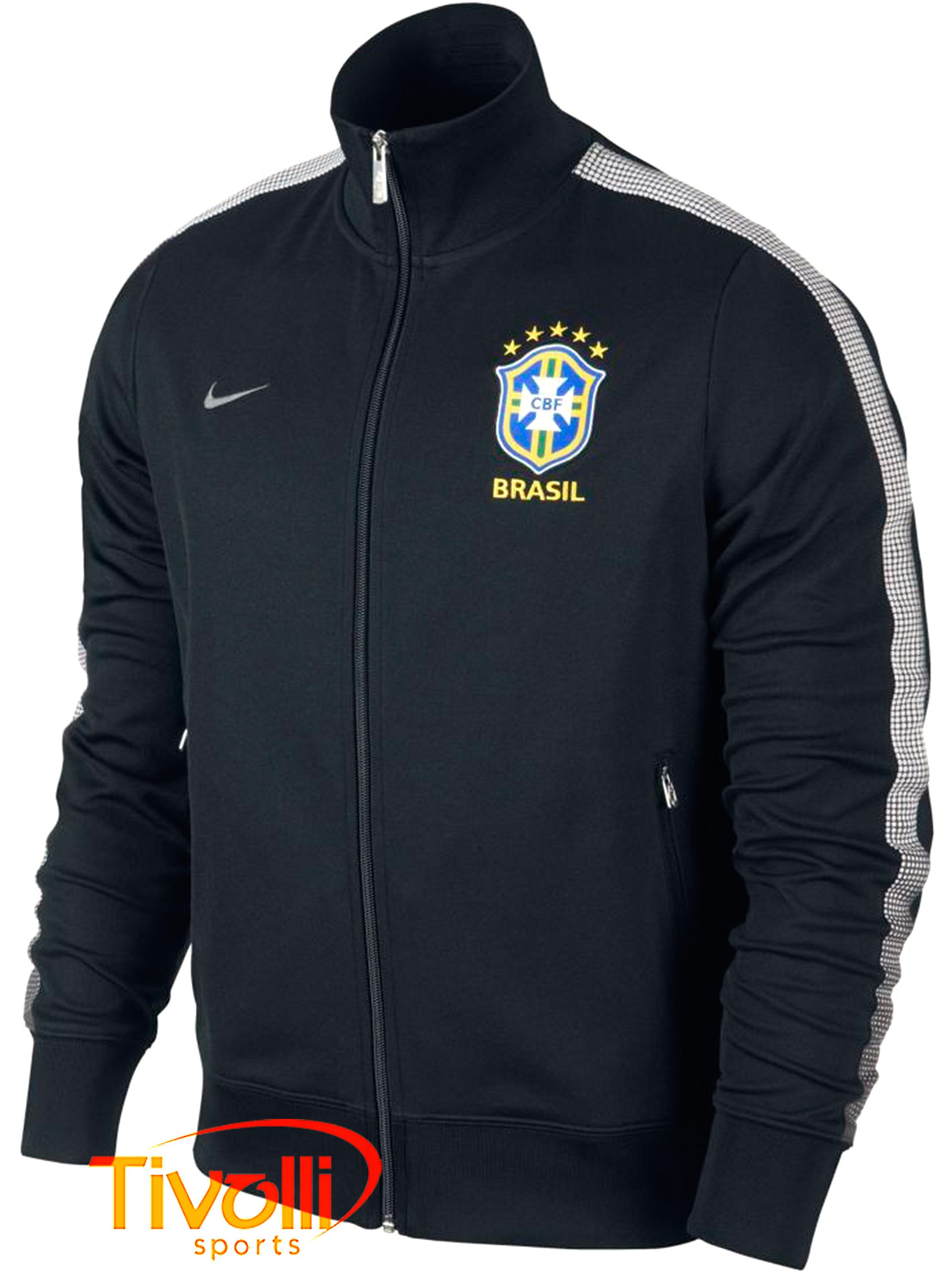 Black Friday - Jaqueta Nike CBF Brasil   Seleção Brasileira preto e ... b298578107e8b
