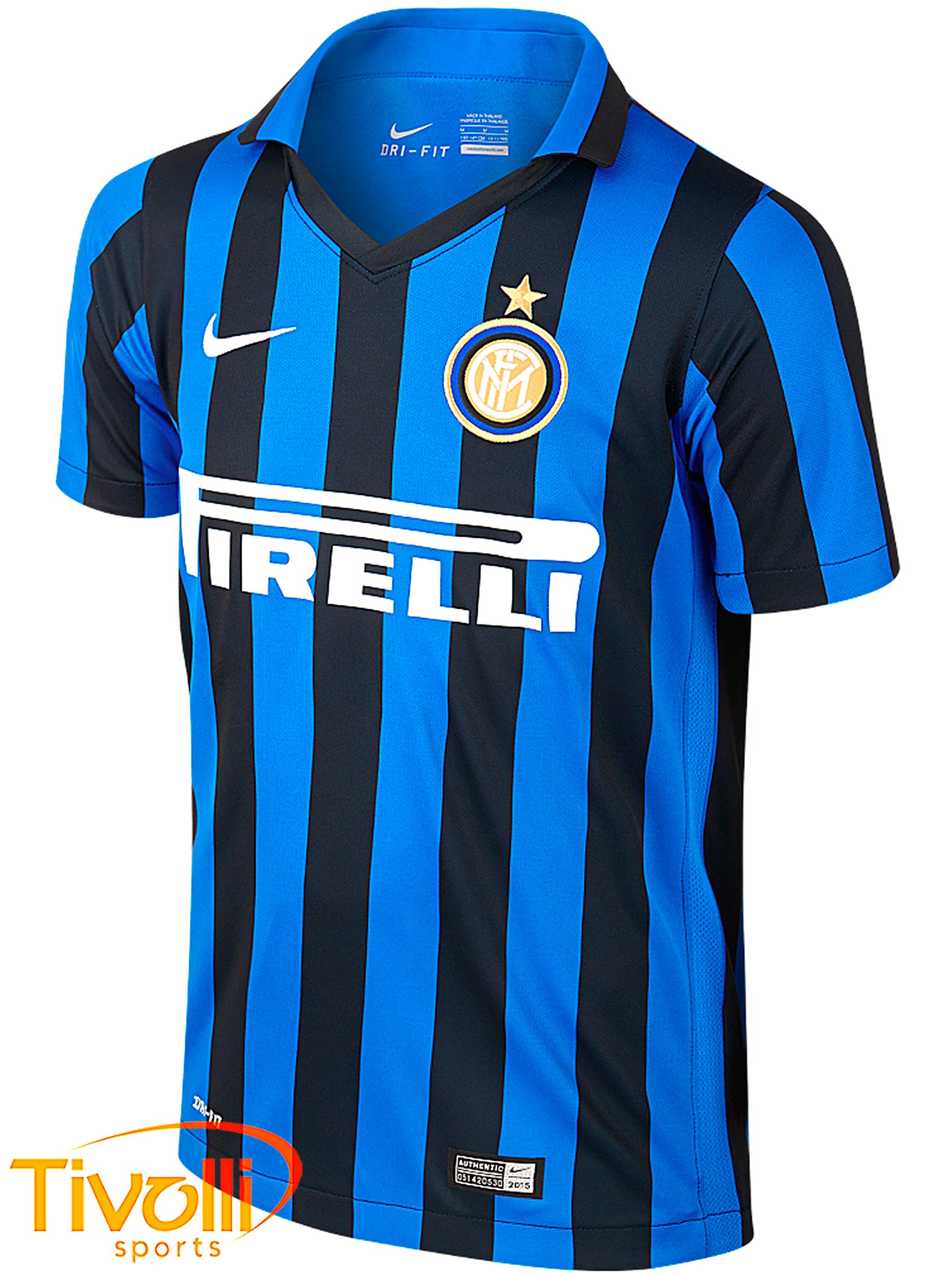 1c6238e89a Camisa Inter de Milão Nike Infantil