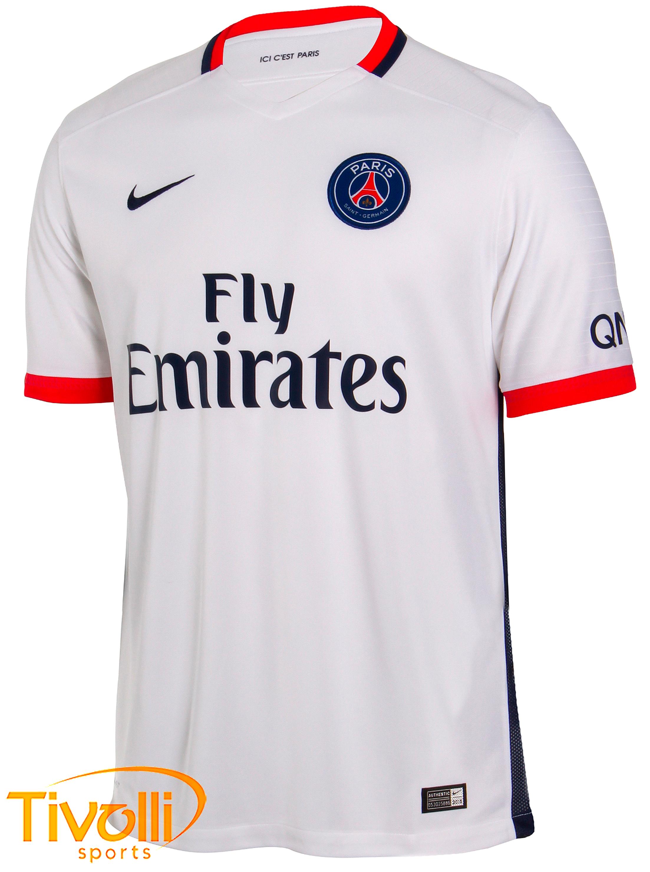 8f369b6614 Camisa Paris Saint Germain II Nike   - Mega Saldão